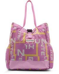 HUNTER Shopper Ripiegabile Original Packable Tote - Multicolore