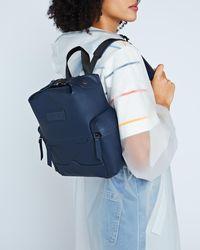 HUNTER - Original Mini Top Clip Backpack - Rubberized Leather - Lyst