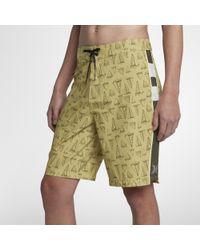 "Hurley - Phantom Jjf Maritime 20"" Board Shorts - Lyst"
