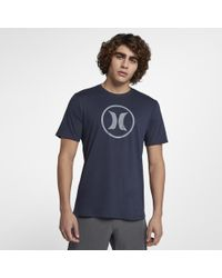 Hurley - Circle Icon Dri-fit T-shirt - Lyst