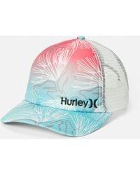 Hurley Corp Trucker Hat - Multicolor