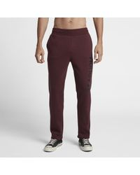 befd7e81aff8 Lyst - Hurley One And Only Pop Fleece Track Pants in Gray for Men