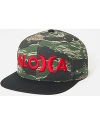 Hurley Aloha Snapback Hat - Green