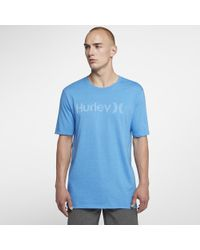 Hurley - One And Only Push Through T-shirt - Lyst