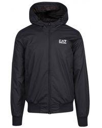 EA7 - Train Core Id Hooded Jacket - Lyst