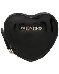 Valentino By Mario Valentino Winter Nico Heart Coin Purse - Black