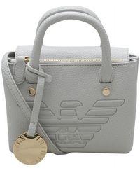 Emporio Armani Embossed Eagle Mini Crossbody Bag Size - Multicolour