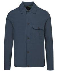 PS by Paul Smith Nylon Overshirt - Blue
