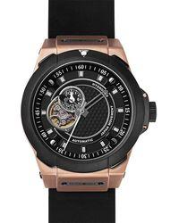 Hydrogen Watch Vento Black-rose Gold-nato
