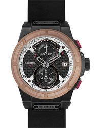 Hydrogen Watch Otto Chrono Rose Gold-black Nato