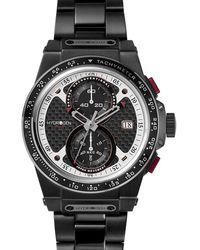 Hydrogen Watch Otto Chrono Black Link