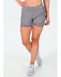 Nike Pantalón corto Eclipse 2 en 1 - Gris