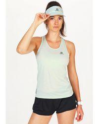Salomon Camiseta de tirantes XA - Verde