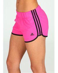 adidas Pantalón corto M10 Woven - Rosa