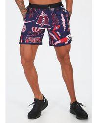 Nike Pantalón corto Wild Run - Morado