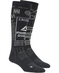 Reebok Calcetines Crossfit Comp Camo - Negro