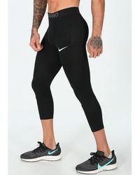 Nike Mallas 3/4 Pro - Negro