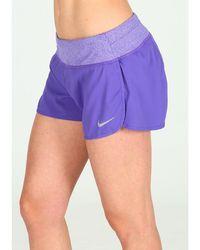 Nike Pantalón corto Rival - Morado