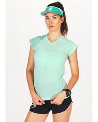 Compressport Camiseta manga corta Performance Summer Refresh - Verde