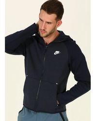 Nike Chaqueta Tech Fleece Hoodie - Azul
