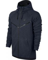 Nike Chaqueta Tech Fleece Windrunner - Azul