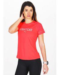 PUMA Camiseta manga corta NightCat - Rojo