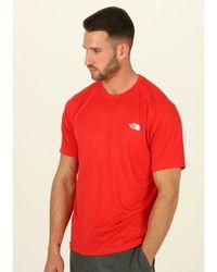 The North Face Camiseta manga corta Reaxion Ampere - Rojo