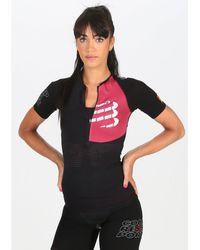 Compressport Camiseta manga corta Postural Aero - Negro