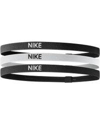 Nike Cintas para el pelo Hairbands x3 - Negro