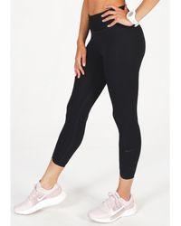 Nike Mallas 7/8 One Luxe Icon Clash - Negro