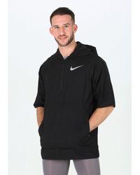 Nike Chaqueta manga corta Flex SS - Negro