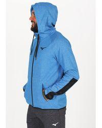 Mizuno Chaqueta Athletic Zip Hoody - Azul
