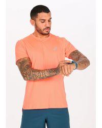 Asics Camiseta manga corta Silver - Naranja