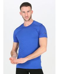 Icebreaker Camiseta manga corta Amplify Crewe - Azul