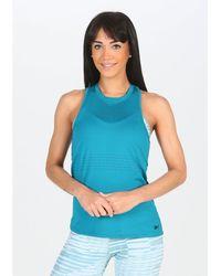Reebok Camiseta de tirantes Perform Mesh - Azul