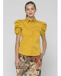 Kocca Parachute Canvas Shirt - Yellow