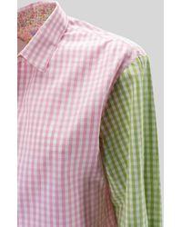 Mc2 Saint Barth Shirt With Embroidery - Pink