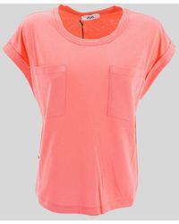 Jijil Wide Sleeve T-shirt - Pink