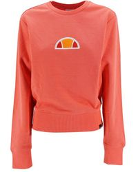 Ellesse Sweatshirt With Logo - Multicolor