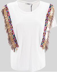 Jijil Sequined T-shirt - White