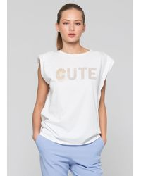 Kocca T-shirt With Applications - White