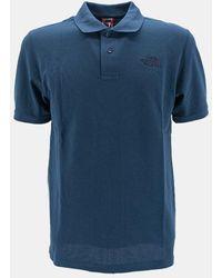 The North Face Piquet Polo Shirt - Blue