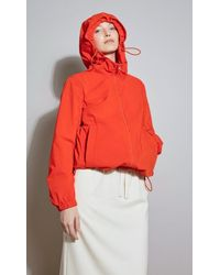 Geospirit Sorona And Water-repellent Parka - Red