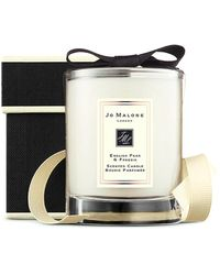 Jo Malone English Pear And Freesia Travel Candle 60g - Black