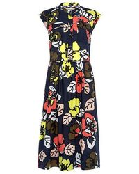 Paul & Joe - Floral Midi Dress - Lyst