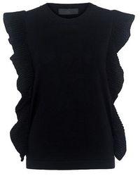 Co. Butterfly Sweater - Black