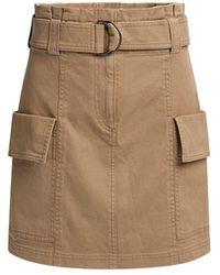 A.L.C. - Mia Belted Mini Skirt - Lyst