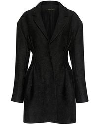 Mother Of Pearl - Evelyn Floral Jacquard Ribbon Cuff Coat - Lyst
