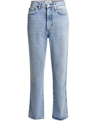 Agolde Pinch High-rise Kick Flared Jeans - Blue