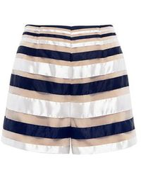 Finders Keepers - Paper Planes Stripe Shorts - Lyst